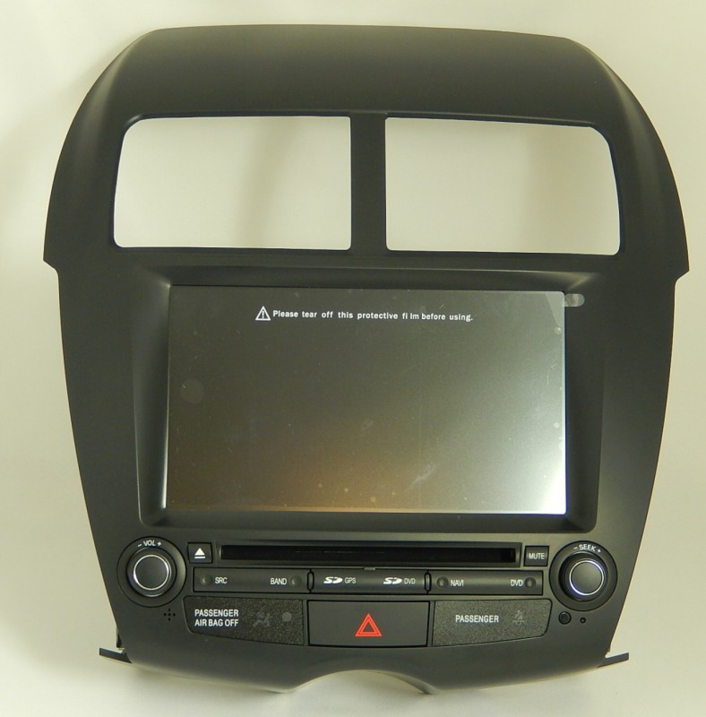 mitsubishi asx multimedialne autoradio s dvd radio s gps. Black Bedroom Furniture Sets. Home Design Ideas