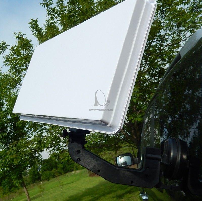 Satelitný kempingový komplet pre karavany a kamiony