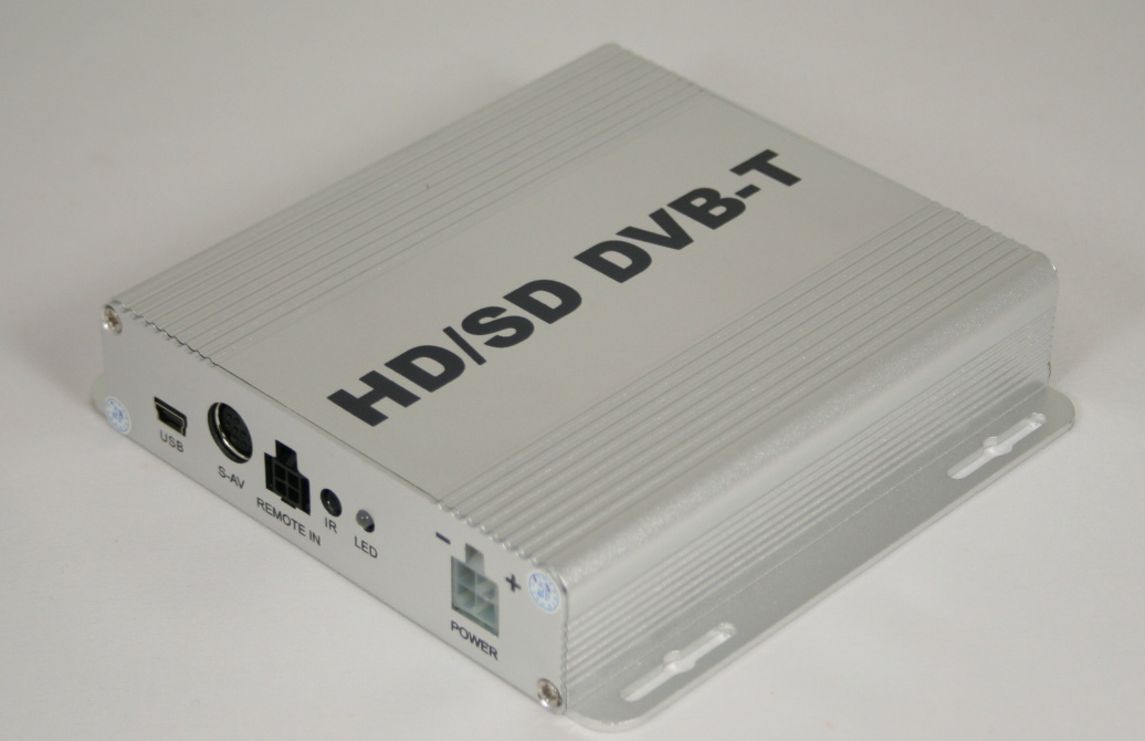 DVB-T tuner do auta HD mini biely