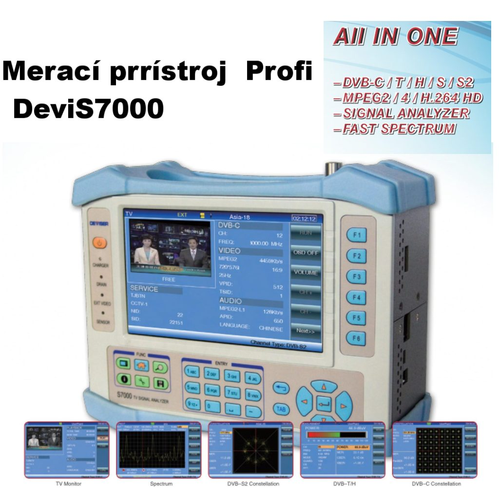 Deviser  S7000 TV analyzer