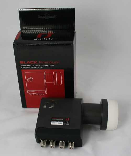 Inverto LNB Quad Black Premium