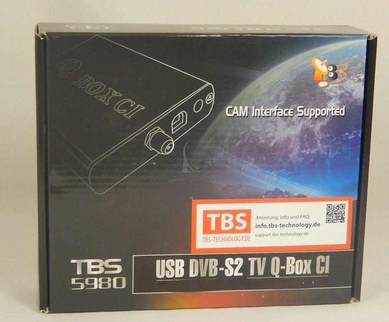 Tbs 5980 Qbox Ci Dvb S2 Tv Tuner Usb Satelitna Karta Do Pc Satelit