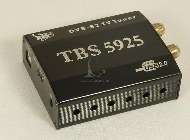 Tbs 5925 Usb Dvb S2 Tv Profi Tuner Satelit Do Pc Tv Sat Nitra