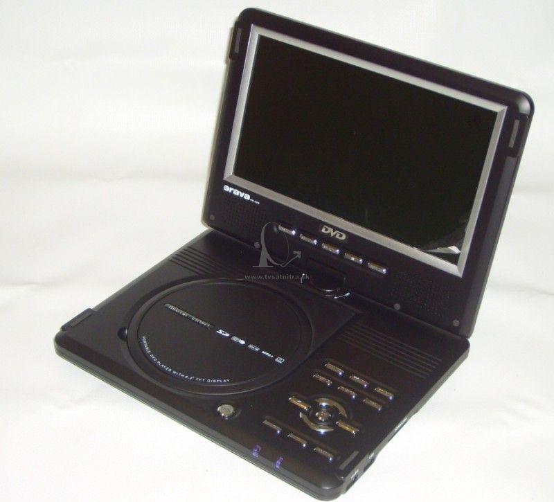 0f71c4b3d Fotogaléria Prenosný DVD prehrávač Orava PD-309 DVD+ DVB-T. možnost  pootočit obrazovku