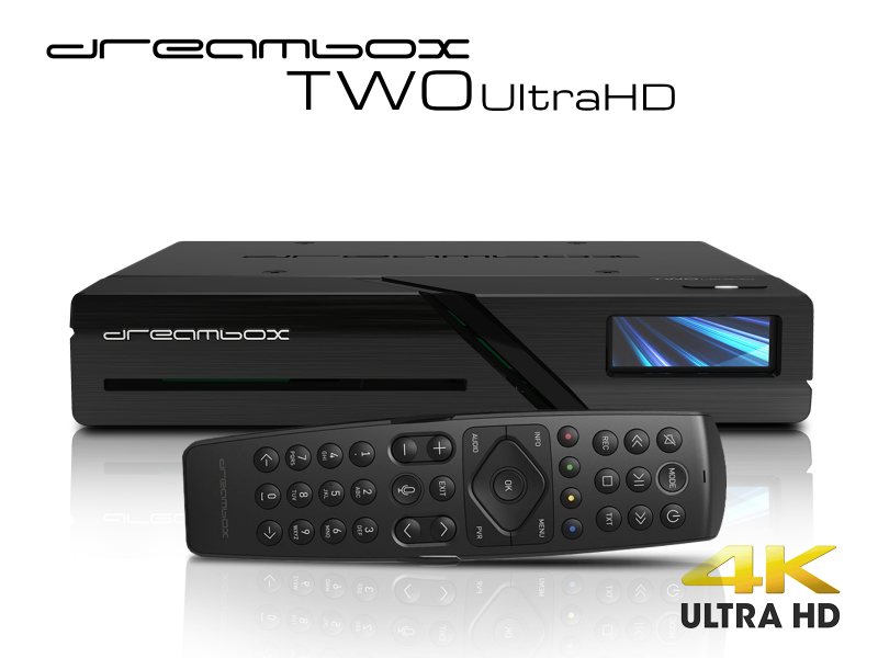 Dreambox Two Ultra HD 2x DVB-S2X MIS Tuner 4K