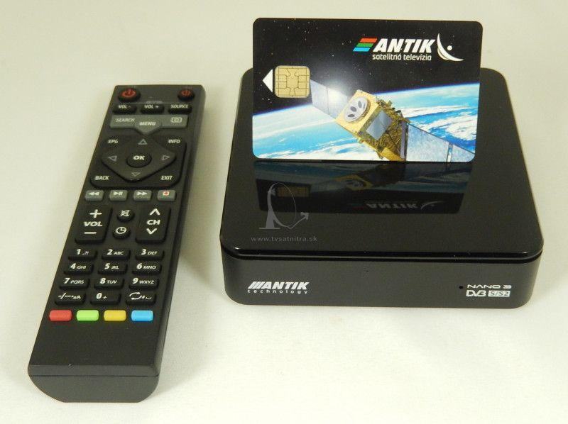45a200fc3 Antik Nano 3S STB + Antik.karta - IPTV+Android TV box - TV SAT NITRA ...