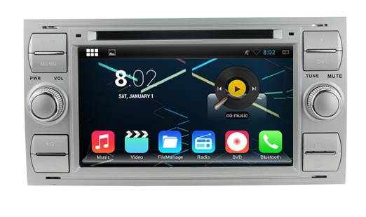 4154cdc38 Multimedialne radio Ford C-MAX,Fusion,Fiesta, Focus,Transit DVD+ ...