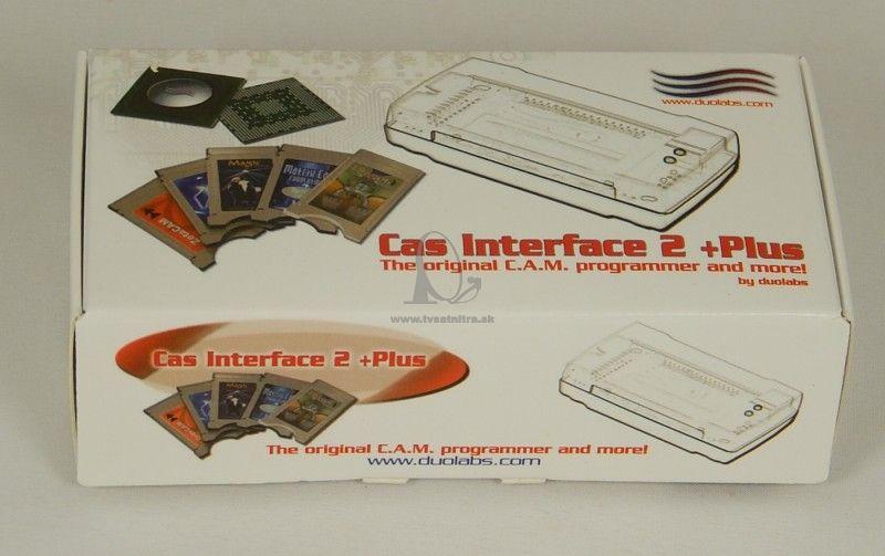 Cas interface 3 Plus Manual