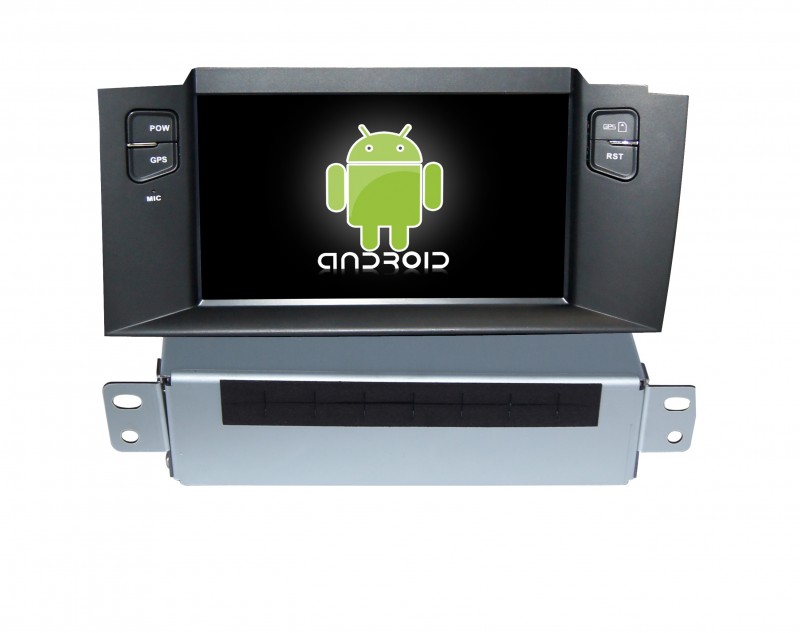 739c3915c Multimedialne radio Citroen C4 Android model DVD-BT-GPS ...