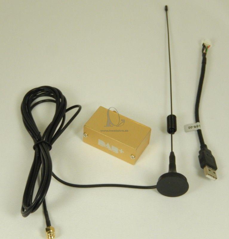d16b6019c DAB + tuner do auta - USB - DVB-T prijímače do auta - TV SAT NITRA ...