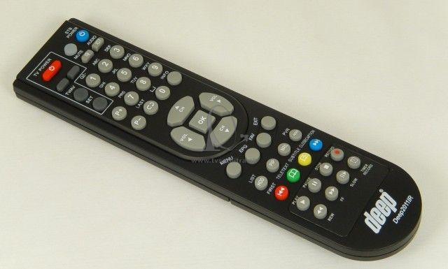 b9fae1565 Dialkový ovladač DEEP 2011 IR HD - Diaľkové ovládače - TV SAT NITRA ...