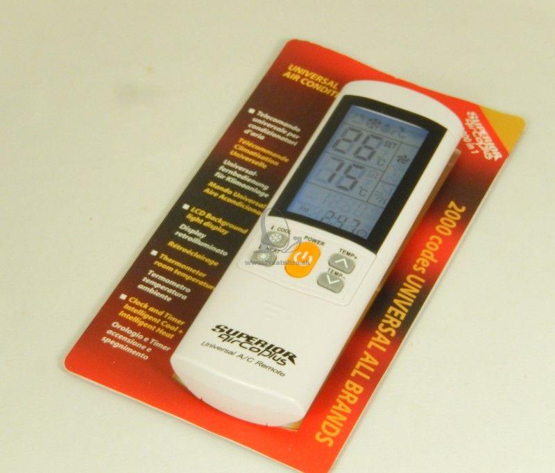 a17783f0c Diaľkový ovládač pre klimatizácie AirCo Plus LCD - Pre klimatizáciu ...