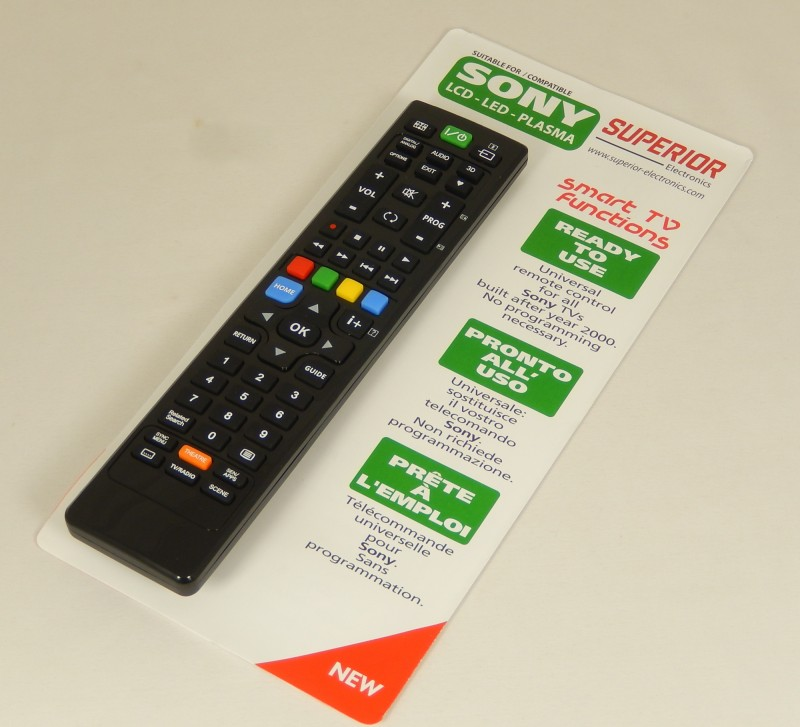 9ee72701e Diaľkový ovládač pre televízor Sony TV - Diaľkové ovládače pre TV ...