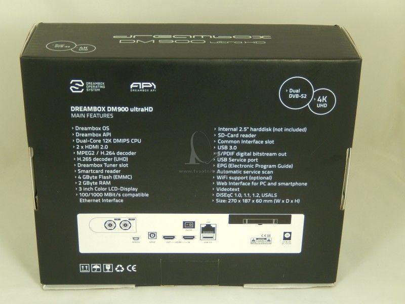 050f02ff2 Dreambox DM 900 Ultra HD 4K - Linuxové - TV SAT NITRA predaj ...