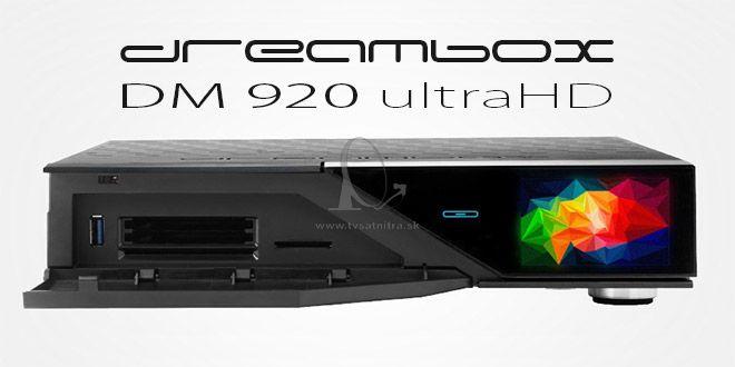 f06f3c2b2 Dreambox DM920 UHD 1xDVB-S2 FBC - 1xDVBC/ T2 Dual tuner - Satelitné ...