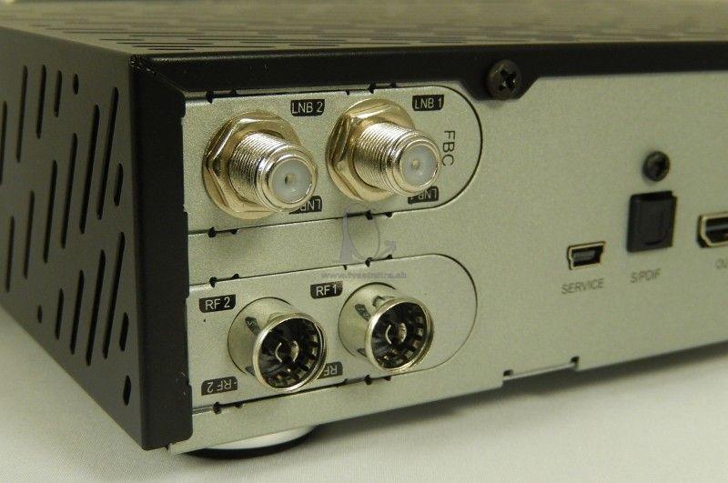Dreambox DM920 UHD 1xDVB-S2 FBC - 1xDVBC/ T2 Dual tuner