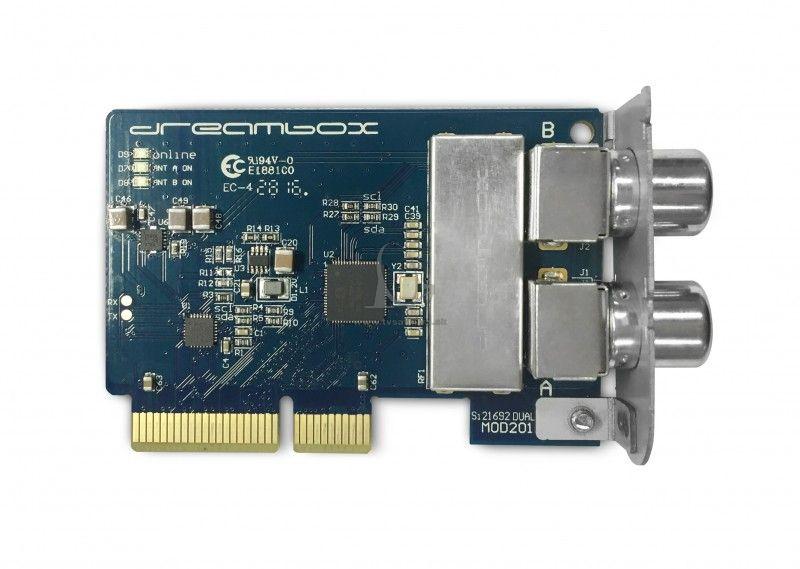 2e9dbb746 Prídavny tuner Dreambox DVB-C/T2 Dual Tuner - Pridavny tuner ...