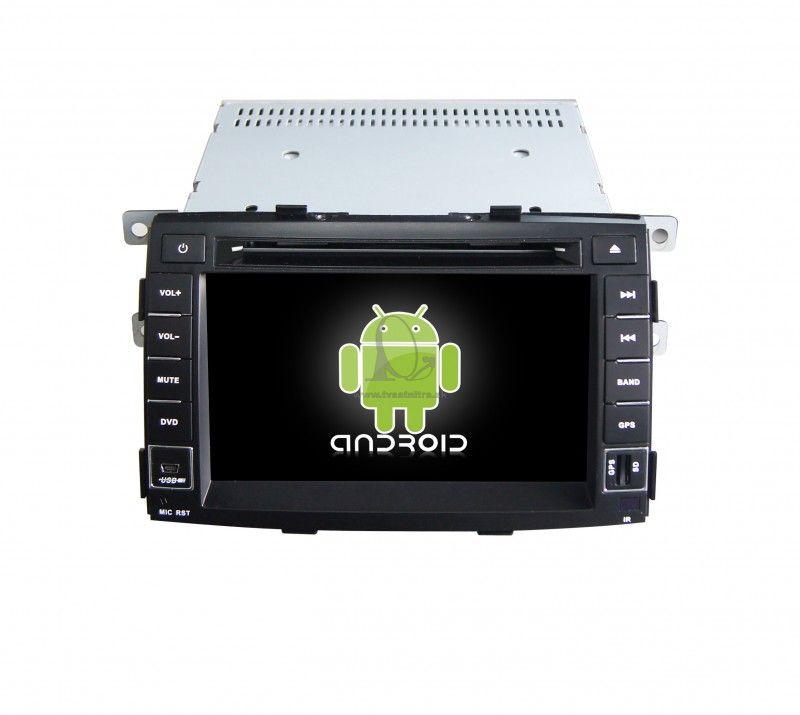 94b397108 Multimediálne rádio Kia Sorento - GPS -ANDROID 7.1 WINCA S190 ...