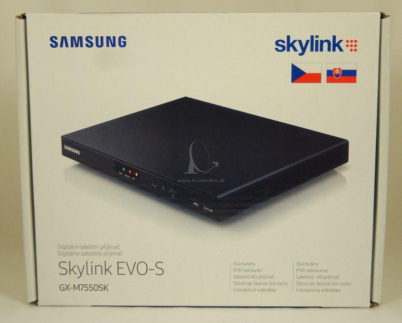 38cdb3a9a Satelitný prijímač Samsung EVO-S-GX-M7550SK - Irdeto Skylink ready ...