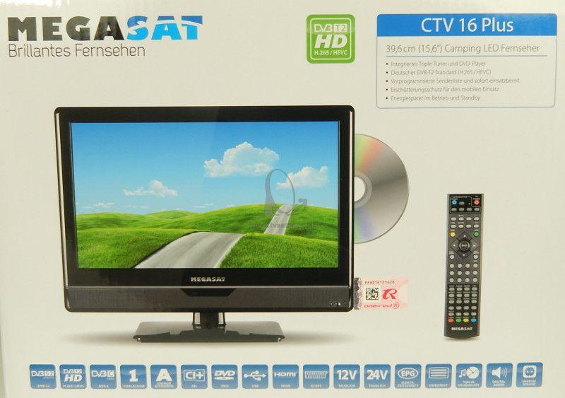 9cfd99c39 Televízor Megasat CTV 16 Plus Camping 12V TV - Televízory na 12V a ...