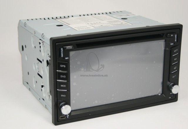 49d08f6ca Multimedialne radio Eonon 2 DIN s GPS + DVD + CD - 2 DIN ...